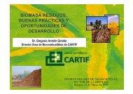 biomasa residuos. buenas prácticas y oportunidades de desarrollo