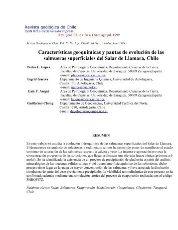 Salar LLamara - Universidad de Antofagasta