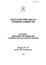 Education and Health Standing Committee.pdf - City of Melville