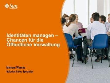 Identitäten Managen - Oev-symposium.de
