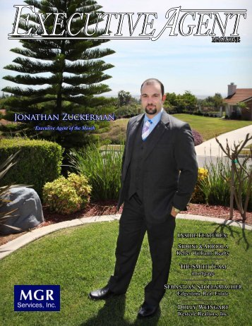 Jonathan Zuckerman - Executive Agent Magazine