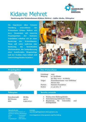 Kidane Mehret - Ingenieure ohne Grenzen