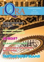 Iqra kuukiri nr.10 - Islam