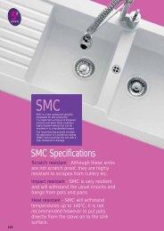 SMC Specifications - Raymac Kitchens