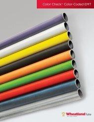Color CheckTM Color-Coded EMT - Wheatland Tube