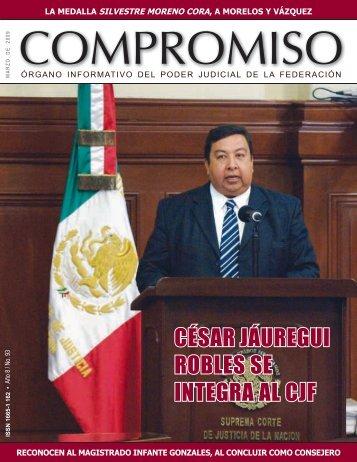 césar jáuregui robles se integra al cjf - Consejo de la Judicatura ...
