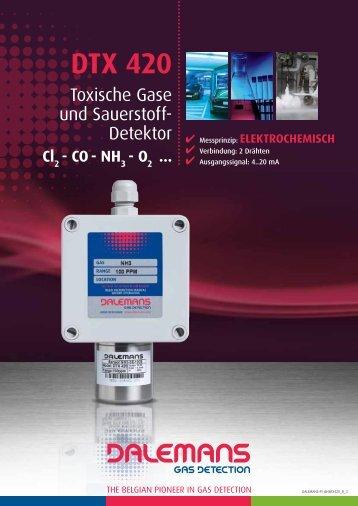 DTX 420 - Dalemans Gas Detection