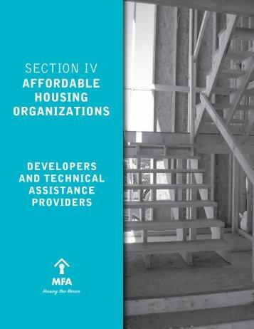 MFA 2011 Housing Directory