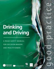 Drinking and Driving - libdoc.who.int - World Health Organization