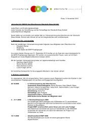 Jahresbericht 2009/10 - Oberstufe Elsau-Schlatt