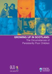 Growing up in Scotland: The Circumstances of Persistently Poor ...
