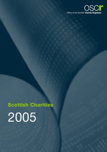 OSCR Report.qxd   Office Of The Scottish Charity Regulator