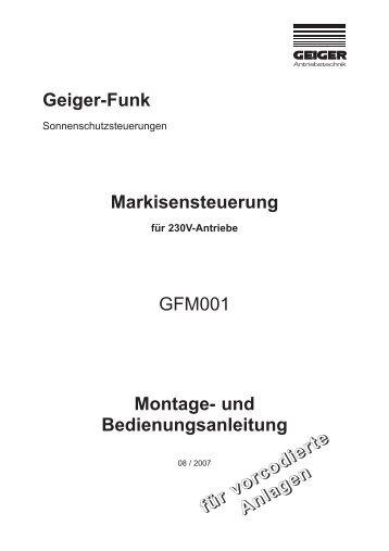 Geiger-Funk - Geiger Antriebstechnik