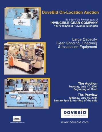Invincible Brochure