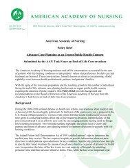 Advance Care Planning as an Urgent Public Health Concern