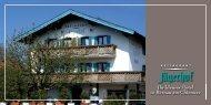 Ihr kleines Hotel in Bernau am Chiemsee - Restaurant und Hotel ...