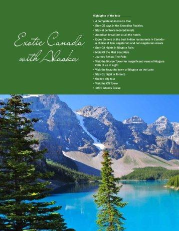 Exotic Canada with Alaska - Vacations Exotica