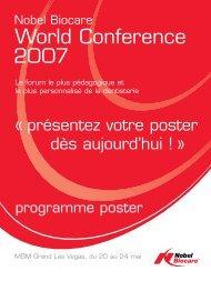 World Conference 2007 - Nobel Biocare