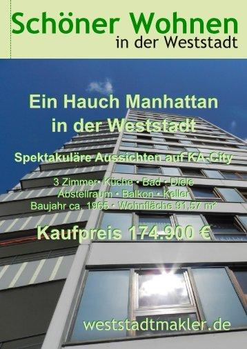 Ein Hauch Manhattan in der Weststadt Kaufpreis 174.900 € Ein ...