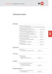 Chemical seals - Delta Strumenti S.r.l.