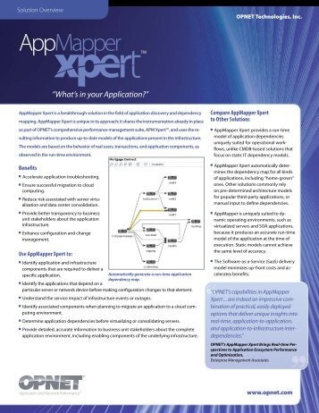 AppMapper Xpert - Interlink Communication Systems