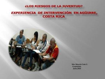 Presentación por Máyela Coto, Costa Rica - IYFLive.net