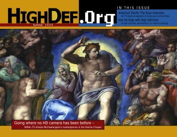 Jul-Aug 2000 Low Bandwidth - highdef magazine