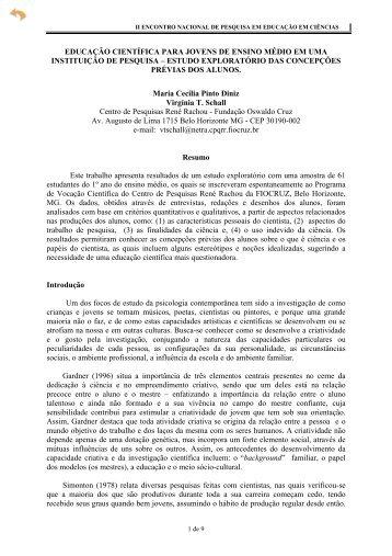educação científica para jovens de ensino médio ... - Axpfep1.if.usp.br