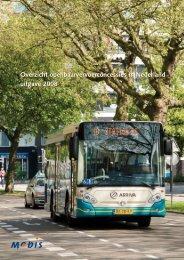 Overzicht openbaarvervoerconcessies in Nederland uitgave 2008 ...
