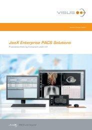 JiveX Enterprise PACS Solutions - visus