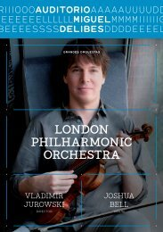 London PhiLharmonic orchestra - Blog del Auditorio Miguel Delibes