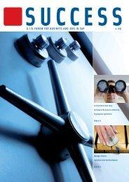 G.I.B Kundenzeitschrift SUCCESS 1-09