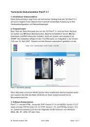 Technische Dokumentation PlanIT 3.1 - Rittal Internetserver