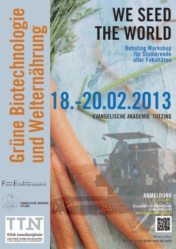 AnmeldunG debating Workshop für studierende aller ... - Institut TTN
