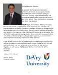 Fall 2008 catalog Part 1 - DeVry - Kansas City - DeVry University - Page 3