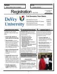 Fall 2008 catalog Part 1 - DeVry - Kansas City - DeVry University - Page 4