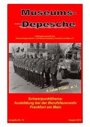 Museums-Depesche 16 (August 2013 - Ausbildung).pdf