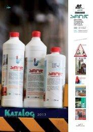 Katalog 2013 - SANIT Reinigungsmittel und