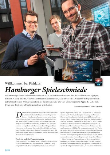 Reportage (PDF 7,3 MB) - Joachim Kläschen