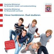 Dual Studieren - Duales Studium Hessen