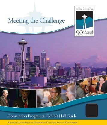 Meeting the Challenge - American Association of Community Colleges