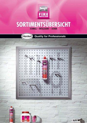 Tangit® FP 550 Brandschutz System Produktübersicht DE - Walraven