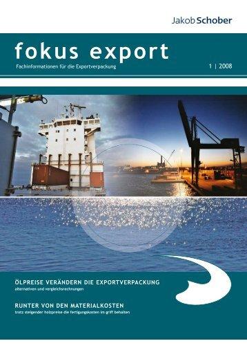 fokus export - Jakob Schober GmbH