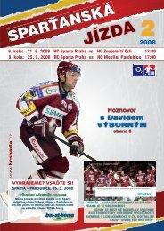 jizda 02 - HC Sparta Praha