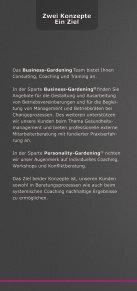 Gemeinsam Erfolge gestalten - für alle! - Business Gardening - Seite 3