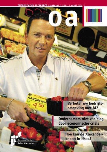 OA maart 2009 nr - Prins Alexander