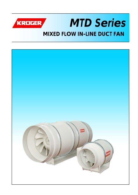 MTD Series - Kruger Ventilation