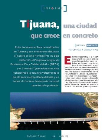 Tijuana, una ciudad que crece en concreto