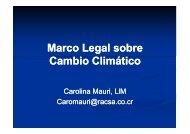 Marco Legal sobre Cambio Climático - Amcham