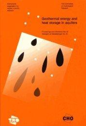 Geothermal energy and heat storage in aquifers
